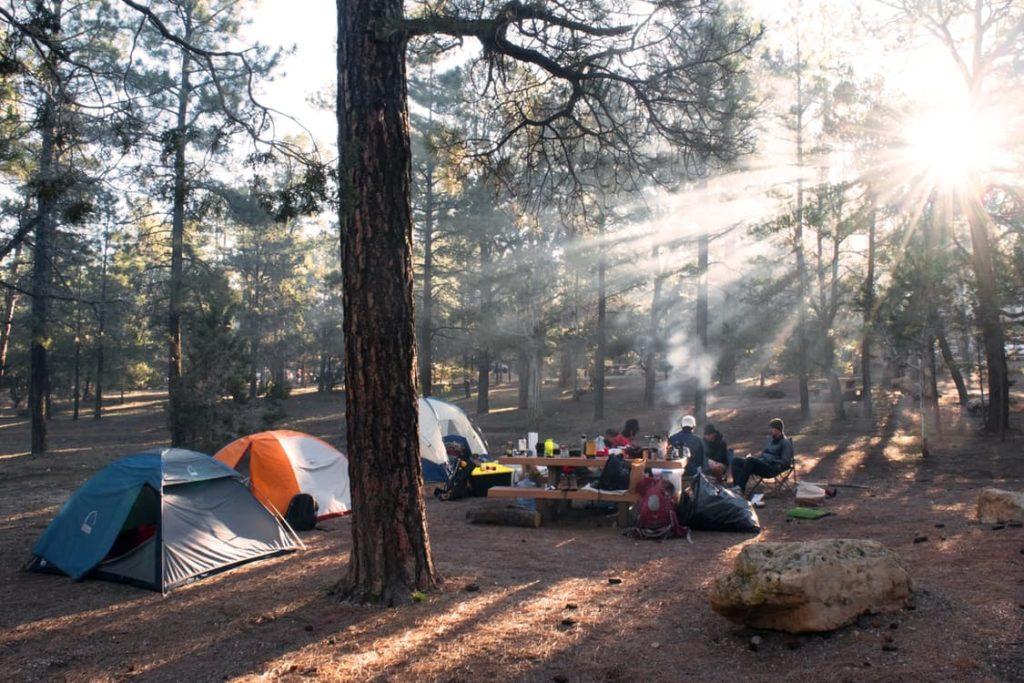 zaino da campeggio