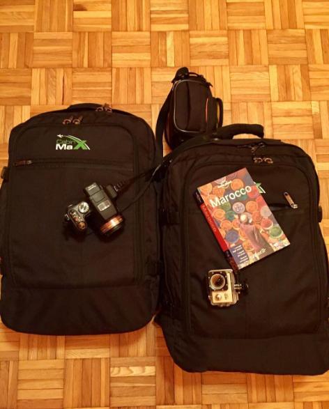 zaino bagaglio a mano