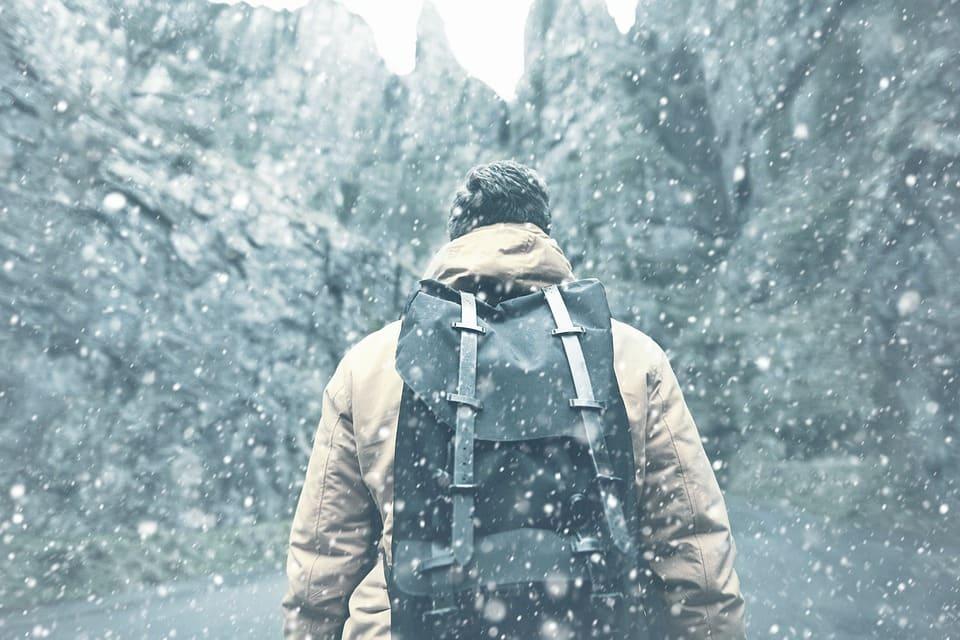 Escursionismo inverno