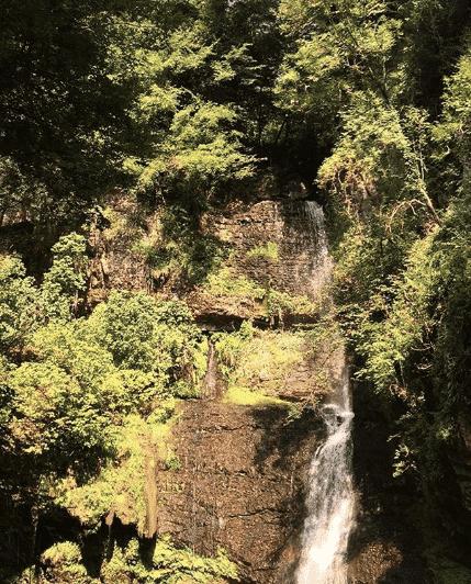 cascata di ferrera
