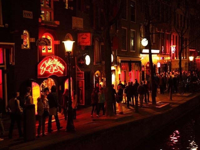 vita notturna ad Amsterdam