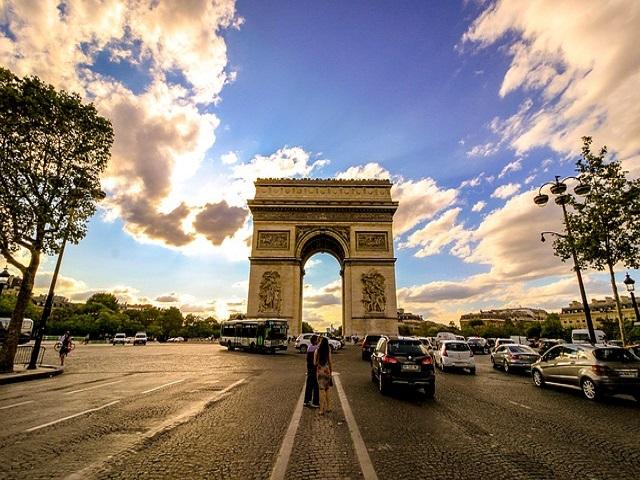 arco di Trionfo a Parigi