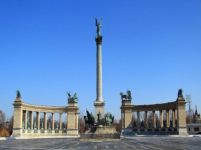 monumento a Budapest
