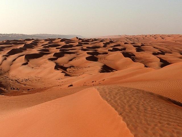 deserto in Oman