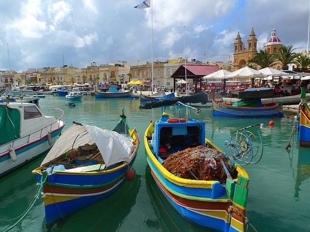 barche a Malta