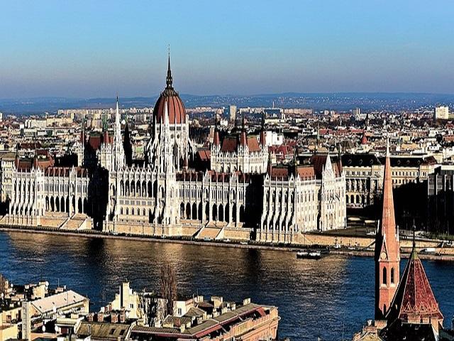 vista su Budapest