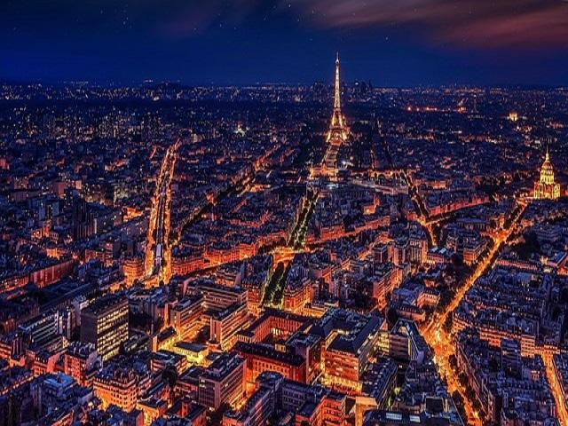 vista panoramica di Parigi