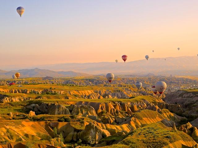 itinerari zaino in spalla in Turchia